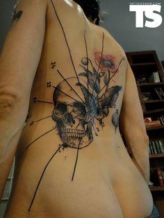 French tattoo artist Xoi'l AKA Loi'c - sick ink in a very distinctive style