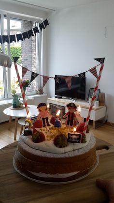 #cake #piraten #5jaar #boys