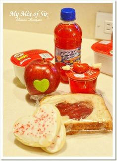 Valentine Day kids Lunch