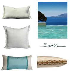 A selection of our Outdoor pillows I more on www.sohildesign.com