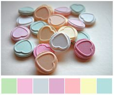 i have a dream of you / love hearts you colour my dreams