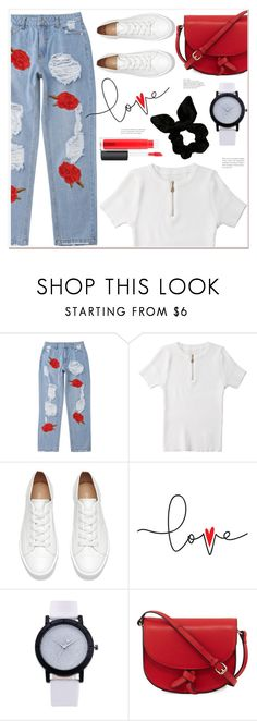 """""""Everyday"""" by mycherryblossom ❤ liked on Polyvore featuring KC Jagger and MAC Cosmetics"""