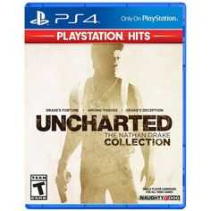 Unknown: The Nathan Drake Accumulation incorporates the single player crusades for Unfamiliar: Drake's Fortune, Strange Among Criminals, and Unknown Drake's Double dealing. Play as Nathan Drake over a set of three of exciting, white-knuckle experiences. Xbox One Games, Ps4 Games, News Games, Video Games, Playstation Games, Ps3, Uncharted Nathan Drake Collection, Drake Relationship, Threes Game