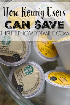 How Keurig Users Can Save Money - This Little Home of Mine