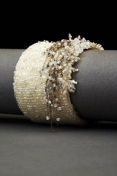 Dangle Couture Cuff - Andrea Gutierrez