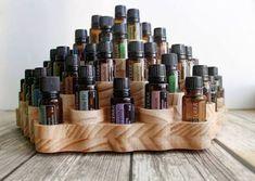 Resultado de imagen para essential oil wooden display rack