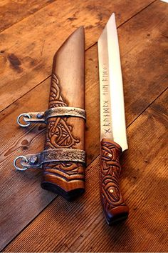 Street Coyote, talesfromjotunheim: What a beautiful Seax. I...
