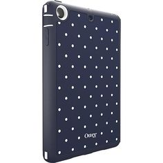 OtterBox - Defender Series Case for Apple® iPad® mini and iPad mini with Retina display - Blue/White - Angle