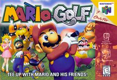 Today in gaming history  Get Into the Swing!  Tee off with Mario and friends in the most entertainment golf game ever to hit the Nintendo® 64 system! Taunt your opponents to break their concentration, place bets in multi-player games, and see replays of your best shots. View the detailed terrain from multiple camera angles and earn Experience Points to get to the next course. With 10 different play modes, 6 championship courses and up to 14 characters, golf has never been this much fun…
