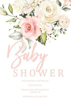 Pin By Gaye Rainey On Jenicas Baby Shower Baby Shower Invitations