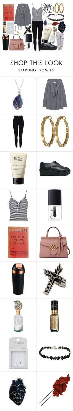 """""""Best View"""" by graveclothes ❤ liked on Polyvore featuring Chinti and Parker, River Island, Kate Spade, philosophy, The WhitePepper, Topshop, NARS Cosmetics, Gucci, Umbra and Privilege"""