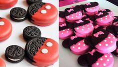 Galletas fáciles de Mickey y Minnie ¡sin cocinar! Os explicamos cómo hacer galletas fáciles de Mickey y Minnie para fiestas infantiles, sin tener que cocinar. Galletas fáciles y divertidas para fiestas.