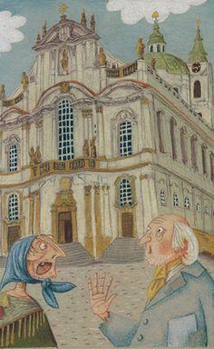 Illustration Jaromír František Palme Neruda : Povídky malostránské