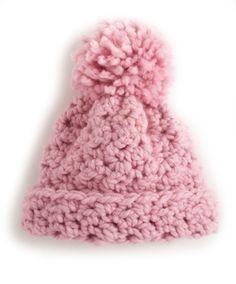 Cute Crocheted Hat: free beginner pattern