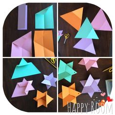 Stelle origami