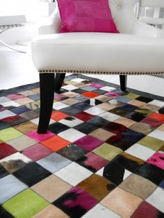Multicolor Patchwork Carpet - Multicolor Patchwork Tapijt