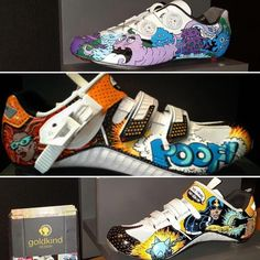 Custom shoes are happening over at @goldkind.design. Check 'em out. More custom kicks over on @velokicks