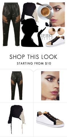 """""""Cool Mom"""" by shimlahan ❤ liked on Polyvore featuring Neil Barrett, In Your Dreams, Marni, René Caovilla, Linda Farrow, MothersDay, sunday, brunch and brunchgoals"""
