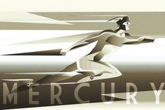 Mercury - Roman messenger of the gods