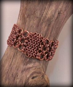 copper chainmaille weave Free chain maille jewelry designs - you can create beautiful jewelry.