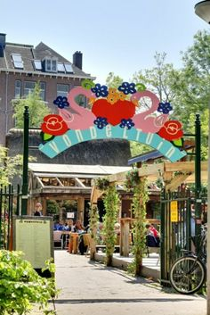 Vondeltuin entrance  Amsterdam Vondelpark www.rosalisaVilla.com