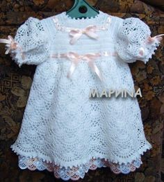 Charming dress for the little lady free crochet graph pattern and tutorial