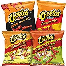Extra hot flavor for a bold snacktime treat Includes bags of Cheetos Crunchy XXTRA Flamin' Hot, bags of Cheetos Crunchy Flamin' Hot Limon, bags of Cheetos Crunchy Flamin' Hot and bags of Cheetos Flamin Hot Puffs Made with real cheese Includes 1 oz bags Cheetos Flavors, Cheetos Cheese, Bag Of Cheetos, Cheetos Crunchy, Cheese Snacks, Gourmet Recipes, Snack Recipes, Sleepover Food, How Sweet Eats