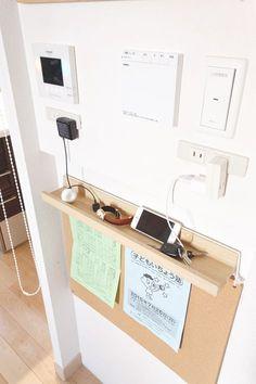 Idea for handphone Japan Interior, Room Interior, Interior And Exterior, Interior Design, Muji Storage, Diy Rangement, Organization Hacks, Apartment Living, Decoration