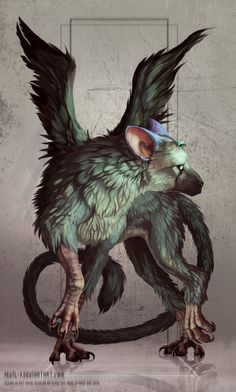 Trico - The Last Guardian by Sevil-s.deviantart.com on @DeviantArt