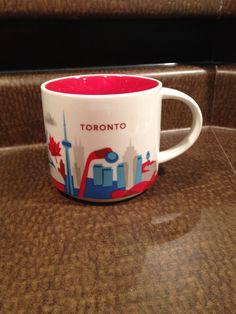 Starbucks city mug - you are here collection -Toronto. Thanks Auntie @CarolBodor