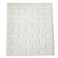 Peel and Stick Wall Panels for TV Walls Sofa Background Wall Decor White Brick Wallpaper -- Click image for more details. (This is an affiliate link) Wallpaper Panels, Self Adhesive Wallpaper, Wall Wallpaper, Wallpaper Designs, Wallpaper Ideas, Peel And Stick Vinyl, Peel And Stick Wallpaper, Paneling Sheets, 3d Wandplatten