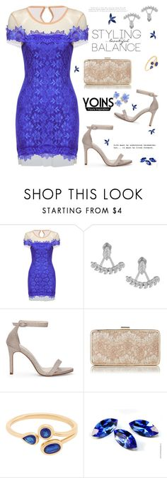 """Yoins138: Blue Sunday"" by bugatti-veyron ❤ liked on Polyvore featuring L.K.Bennett, yoins and yoinscollection"