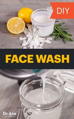 homemade face wash recipe with essential oils will leave your skin feeling refreshed, hydrated and clean.This homemade face wash recipe with essential oils will leave your skin feeling refreshed, hydrated and clean. Homemade Face Wash, Homemade Skin Care, Diy Skin Care, Skin Care Tips, Skin Tips, Skin Secrets, Homemade Facials, Homemade Soaps, Homemade Beauty Products