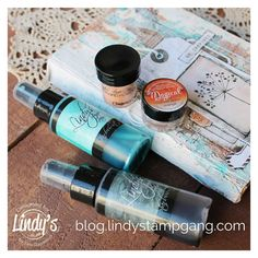 Stunning book cover creation! #lindys #lindysgang #lindystampgang #lindysstampgang #lindyssprays #lindysblog