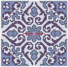 Χειροτεχνήματα: Γεωμετρικά σχέδια για κέντημα / Geometric cross stitch patterns