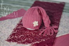 UPCYCLED Newborn Hat and 2 Layers Set - Any Colors - Upcycled PHOTOGRAPHY PROP - Newborn Hat Prop