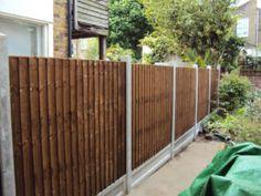 Pictures Of Wooden Garden Fences