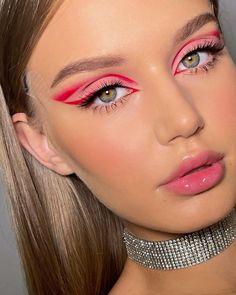 Dope Makeup, Red Eye Makeup, Eye Makeup Steps, Makeup Eye Looks, Bridal Makeup Looks, Pretty Makeup, Makeup Inspo, Makeup Inspiration, Beauty Makeup