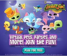 "FREE National Geographic ""Animal Jam"" Online Game for Kids on http://hunt4freebies.com"