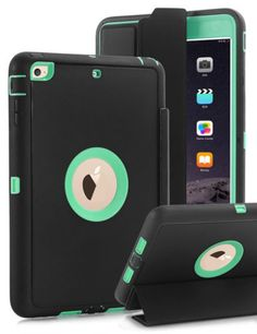 The most popular color-Mint Green! Flip type, full body protective! 4 colors you can choose! The most important is: case ship from US, only 2-7 working days to delivery.