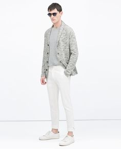 Image 1 of JACKET WITH NOVELTY BUTTON from Zara
