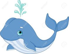 Illustration Of Cute Cartoon Whale Royalty Free Cliparts, Vectors, And Stock Illustration. Pic 20960931.