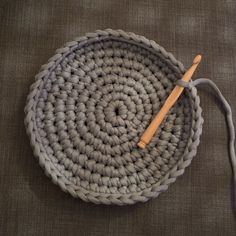 Cat Basket, Lace Weave, Crochet Basket Pattern, Ibiza Fashion, Couture, Baby Knitting, Knit Crochet, Diy And Crafts, Weaving