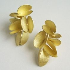 Kayo Saito: Large Butterfly Earrings