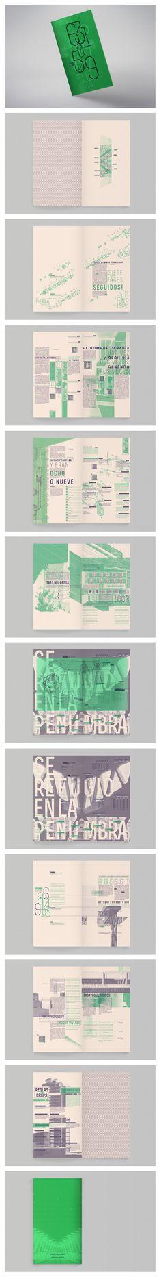 Interior covers pattern// Fede Kanno - Editorial / Cuentos para tahúres - Rodolfo Walsh