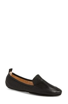 Yosi Samra Skyler Foldable Flat In Black Leather Foldable Flats, Yosi Samra, Best Brand, Womens Flats, Black Leather, Nordstrom, Loafers, Silhouette, How To Wear