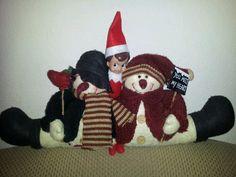 Elf sharing some Christmas love