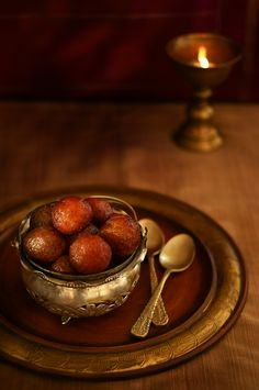 Wishing you all a very Happy Diwali with some Gulab Jamun