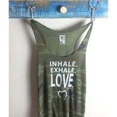 Inhale. Exhale. Love.
