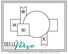 Viva la Verve Sketches: December Viva la Verve One Sheet Wonder Challenge